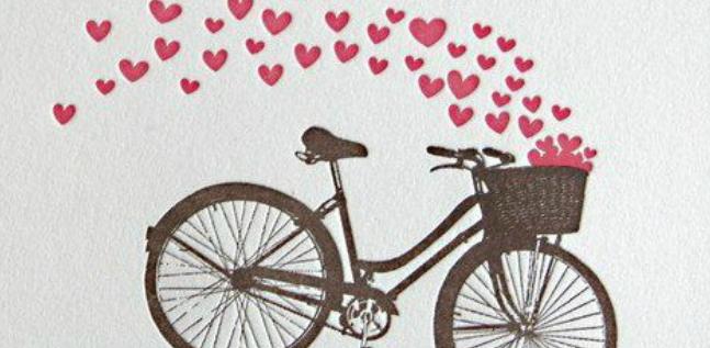 Resultado de imagem para viver amar bicicleta