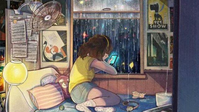 O amor da sua vida passou  enquanto você mexia no celular